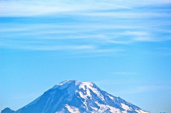 Olympic View Bed and Breakfast Cottage: Mt. Rainier is only 2 hours away and a must see.