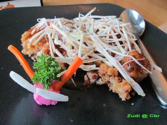 Penang Bistro - Kebon Sirih: chicken mangoes