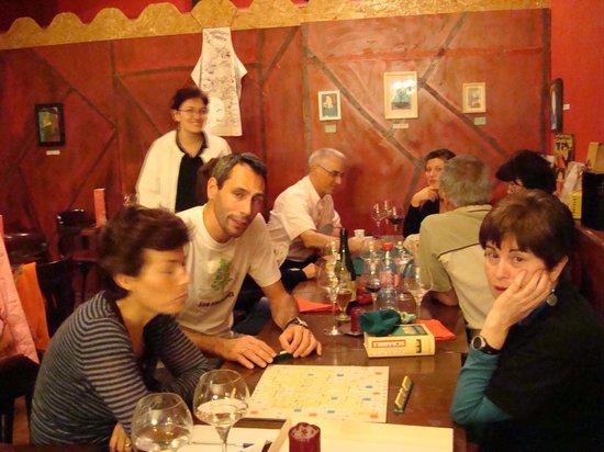 """Brasserie Au Bon Plaisir: Soirée jeux """"A la bonne franquette"""""""