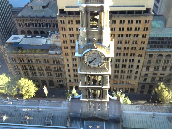 The Westin Sydney: Clock Tower in Martin Place