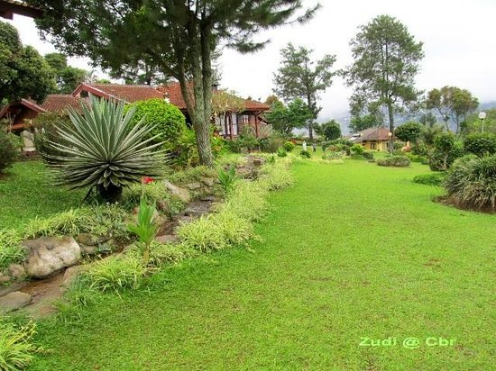 Permata Hati Resort & Organic Farm: small river