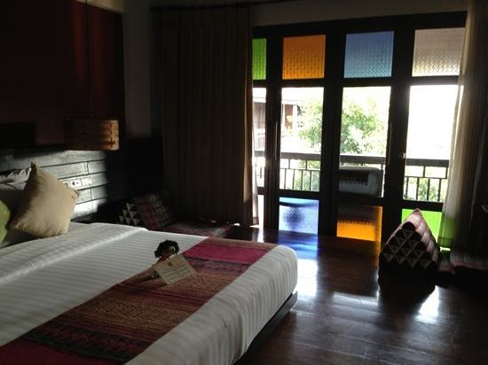 De Lanna Hotel, Chiang Mai: superior king bedroom
