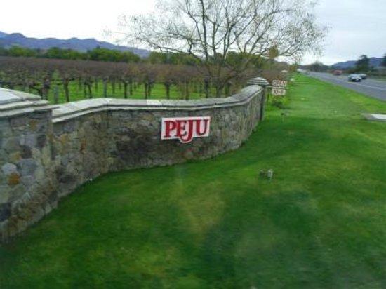 Peju Province Winery: 入口