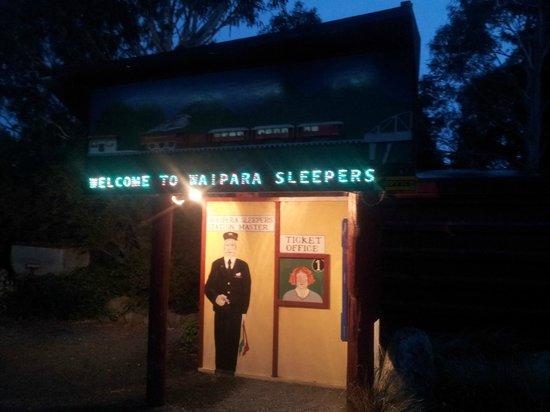 Waipara Sleepers: Entrance