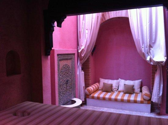 Villa Maroc: salon de massage privé dans la villa shammar
