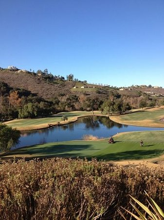 Maderas Golf Club: Overlooking hole #9