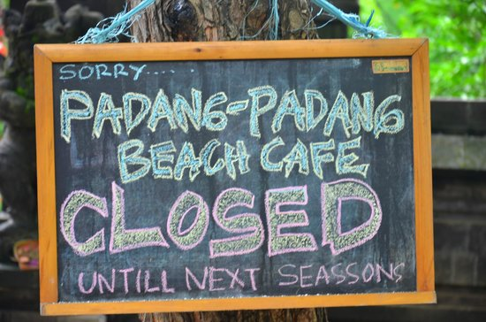 Padang Padang Beach: short notice