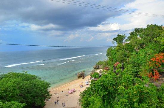 Padang Padang Beach: stunning view