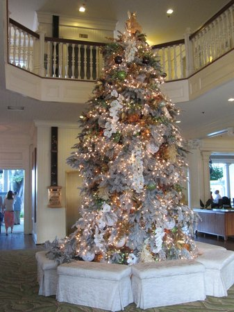 Moana Surfrider, A Westin Resort & Spa: Lobby Christmas