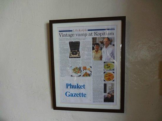 Kopitiam by Wilai: restaurant story