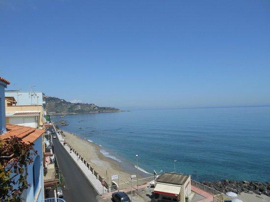 هوتل بالاديو: Taormina dall'hotel 