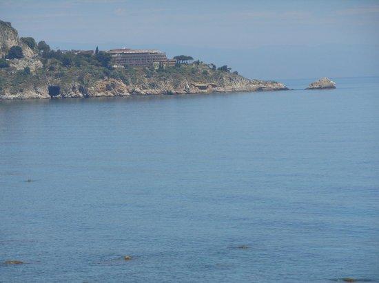 هوتل بالاديو: promontorio di Taormina 