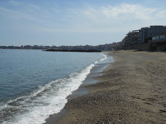 Hotel Palladio: la spiaggia nera