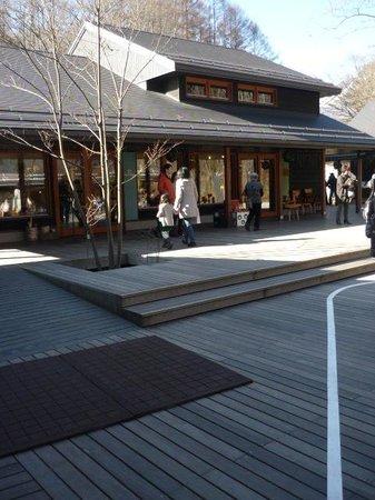 Karuizawa-machi, Japan: 場内
