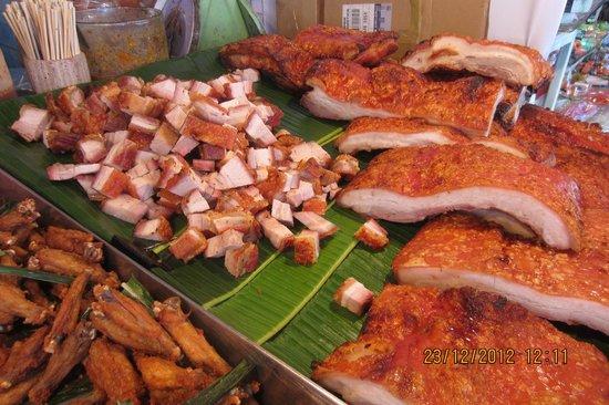 Chatuchak Weekend Market Delicious Chinese Style Roast Pork
