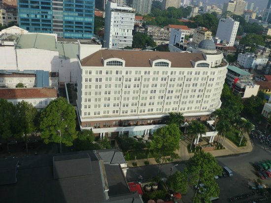 Caravelle Saigon: View from room 1920