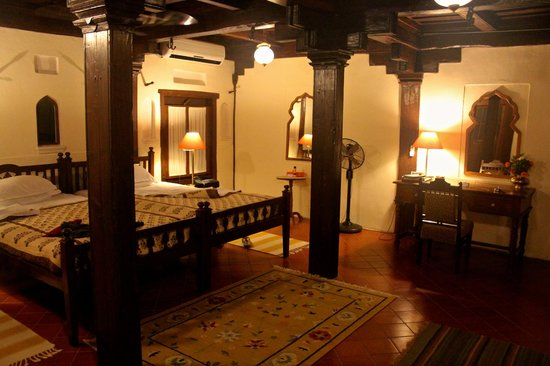 Ahilya Fort: our room at Ahilya