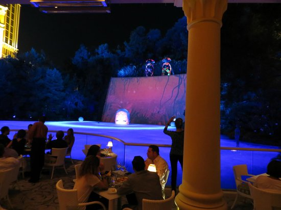 Stimmung Show Picture Of Lakeside Wynn Las Vegas