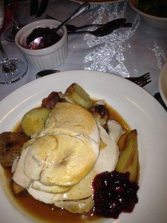 Mercure Norwich Hotel: roast turkey
