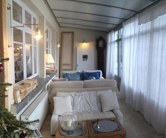 Hotel La Marine de Loire: le petit salon