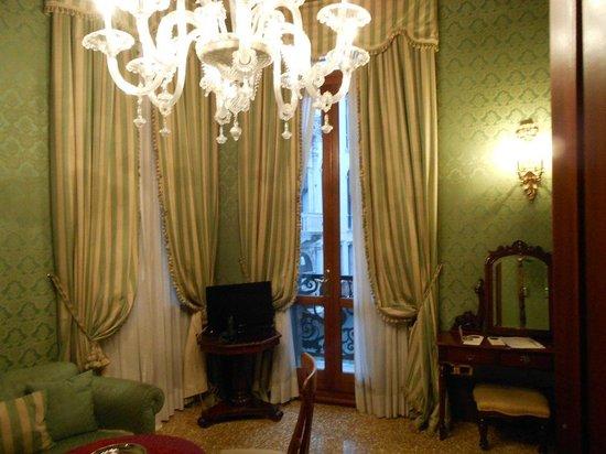 Hotel al Ponte dei Sospiri: l'intérieur
