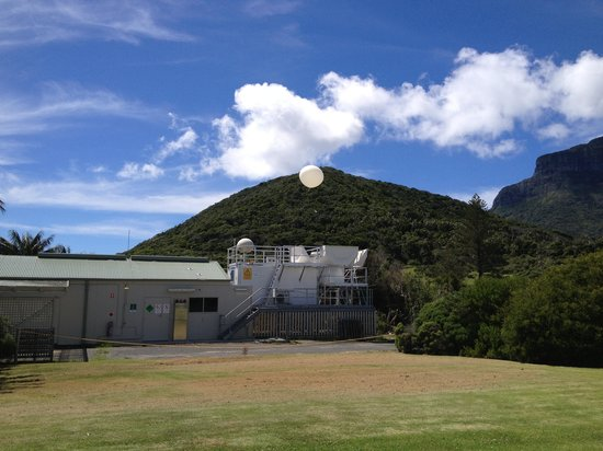 Остров Лорд-Хау, Австралия: The meteorological station Lord Howe Island