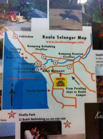 Sun Inns Kuala Selangor: location