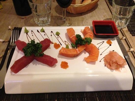 Blue Pearl : duo de sashimi