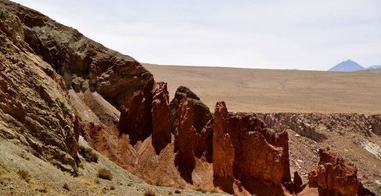 Valle Arcoiris: Fascinating rock formations at the valley