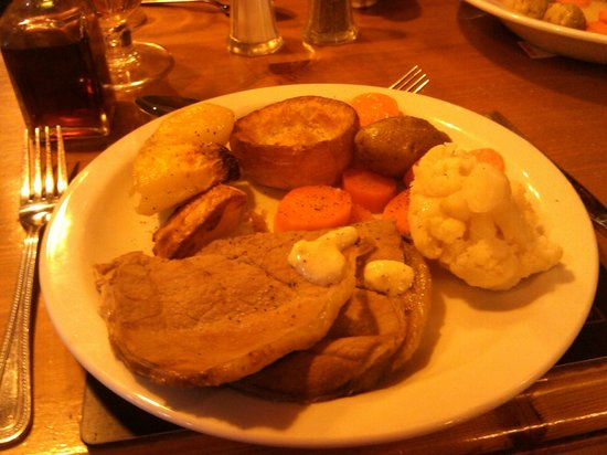 Bear Inn: Roast Beef