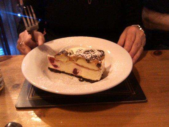 Bear Inn: Raspberry Cheesecake