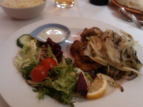 Cafe Romna: lamb tikka