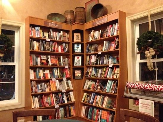 Creekside Coffeehouse: main book section