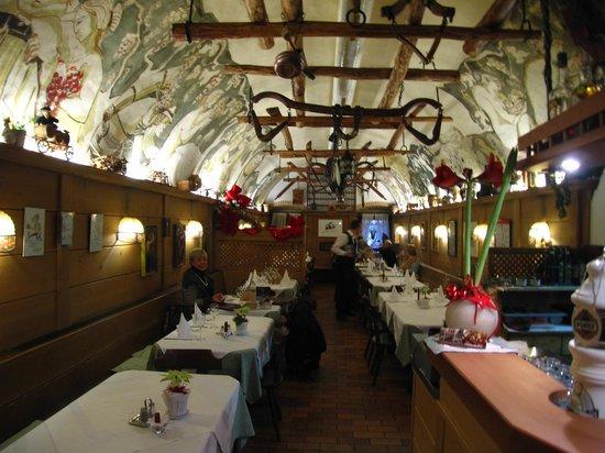 Laubenkeller: il ristorante