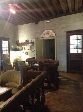Hotel Ter Brughe: Lounge