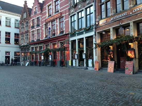 Hotel Ter Brughe: Bruges at Christmas