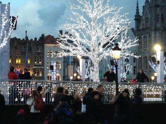 Hotel Ter Brughe: Christmas in Bruges