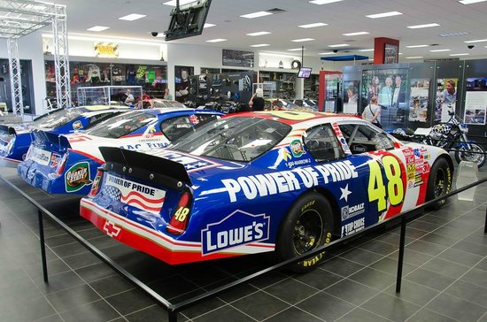 Inside The Museum Shop Picture Of Hendrick Motorsports