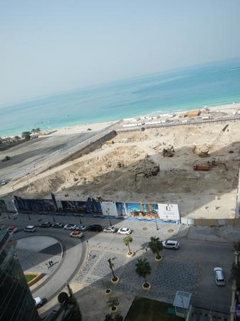 Movenpick Hotel Jumeirah Beach: vista dalla stanza 1103