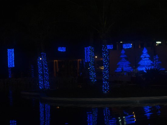 Pandanus Resort: Basen Boże Narodzenie