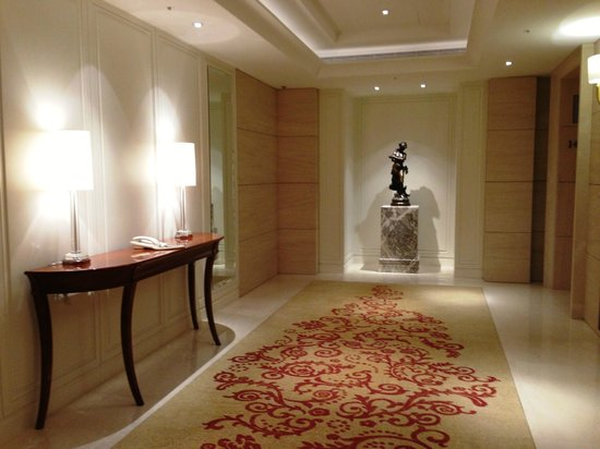The Okura Prestige Taipei: foyer area