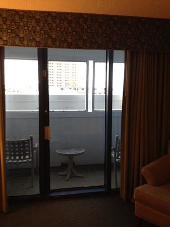 Daytona Beach Regency: balcony of rm 203 - no view