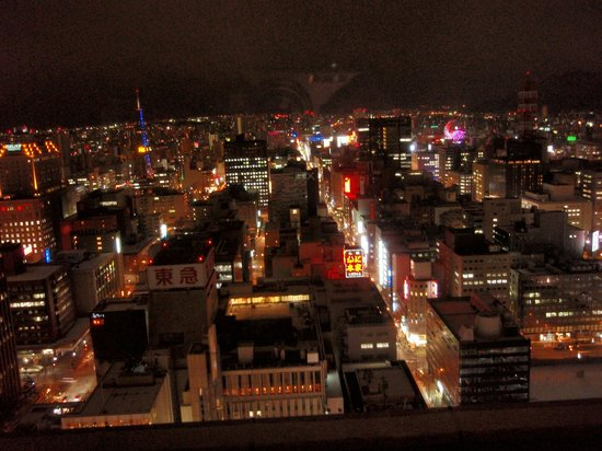 JR Tower Hotel Nikko Sapporo: night view