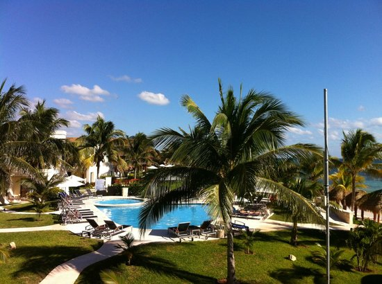 Azul Beach Hotel: the view from the room