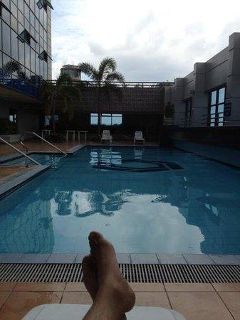 The Malayan Plaza: pool