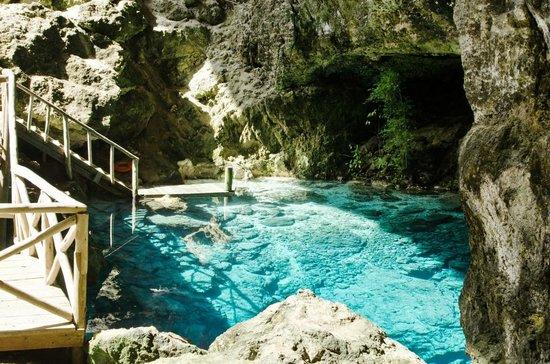 Scape Park at Cap Cana: Hoyo Azul Lagoon