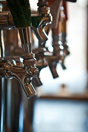 Taphouse Restaurant: We have 9 unique beers on tap all the time.