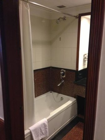 Jaypee Palace Hotel & Convention Centre Agra: shower