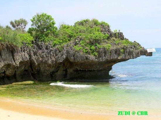 Pantai Sundak: view from shore
