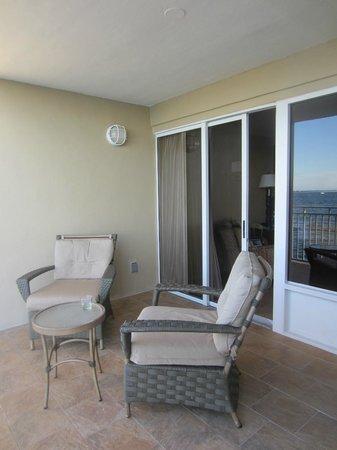 Pier House Resort & Spa : Balcony
